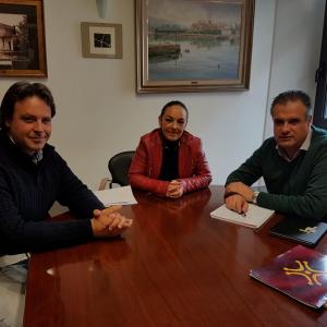 Reunion con Alcalde de Astillero