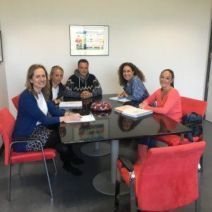 Reunion con Universidad de Cantabria
