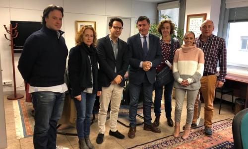 Reunion con el Consejero de Educacion de Cantabria