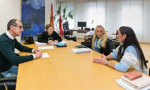 Reunion con Consejera de Sanidad de Cantabria